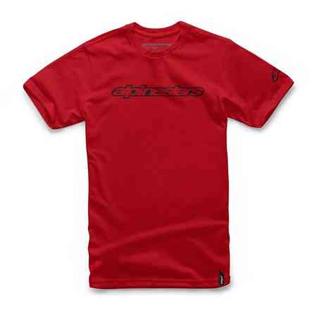 T-shirt Wordmark Rot Alpinestars