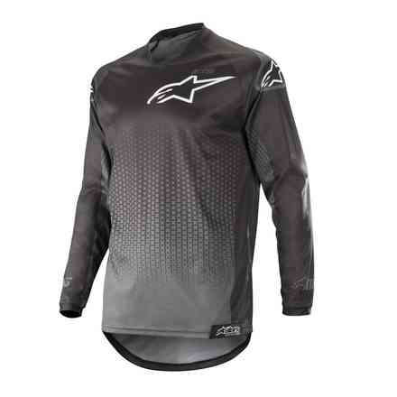 T-shirte Cross Racer Graphite Schwarz Anthrazyte Alpinestars