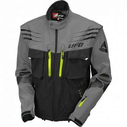 Taiga Enduro Jacket Black Gray Ufo