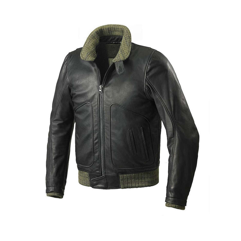 Tank Leather  Jacket Spidi