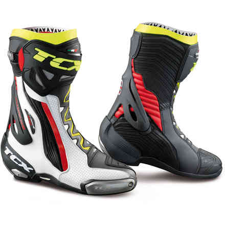 Tcx RT-Race Pro Air Boots White-Red-Yellow Tcx