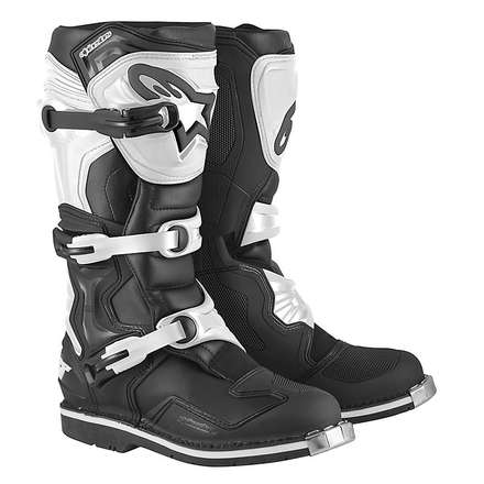 Tech 1 Boots black-white Alpinestars