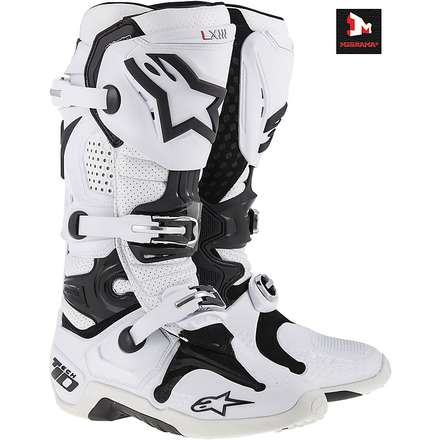 TECH 10 MOTOCROSS  OFF-ROAD bianco Alpinestars