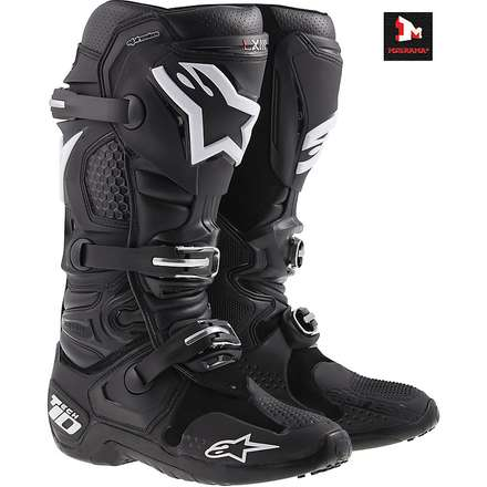 TECH 10 MOTOCROSS / OFF-ROAD noir Alpinestars