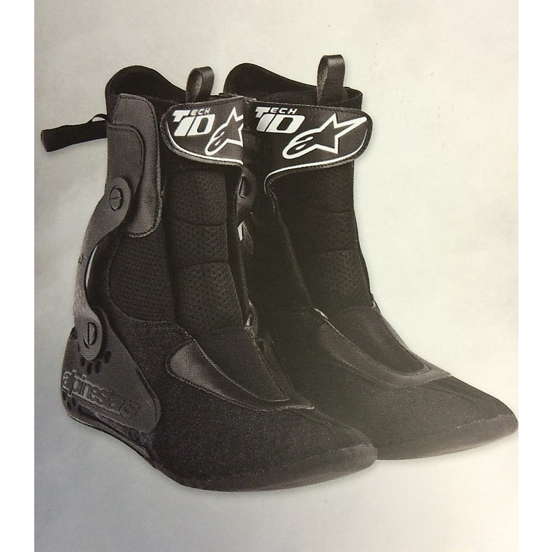 TECH 10 MOTOCROSS / OFF-ROAD schwarz  Alpinestars