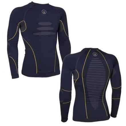 Tech 2 Base Layer Blaues Hemd Forcefield