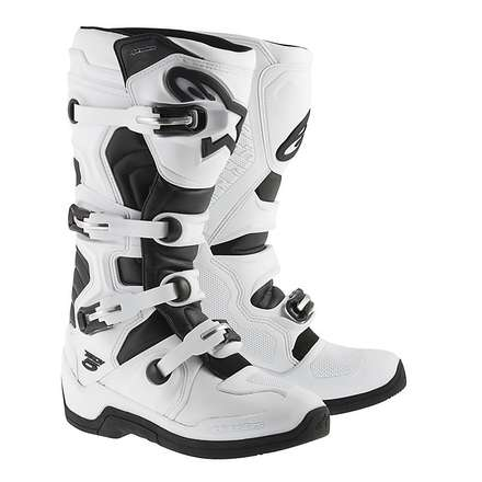 Tech 5 Boots white-black Alpinestars