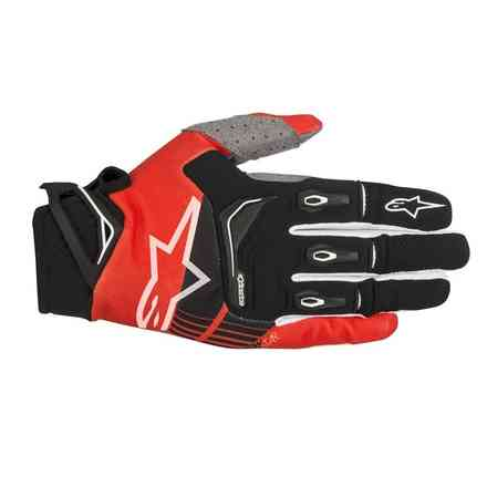 Techstar 2018 off-road gloves black red Alpinestars