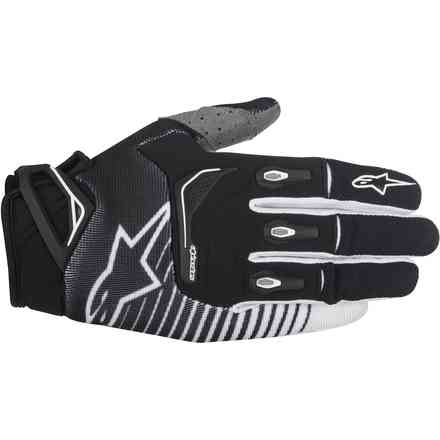 Techstar Factory black-white Gloves  Alpinestars
