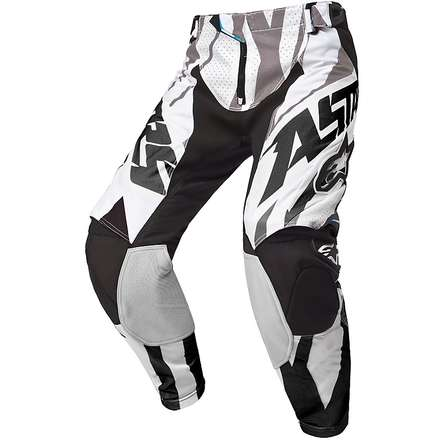 Techstar Pants 2015 offroad balck white Alpinestars