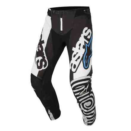 Techstar Venom 2018 pants black white aqua Alpinestars