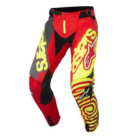 Techstar Venom 2018 pants red yellow fluo antracite Alpinestars