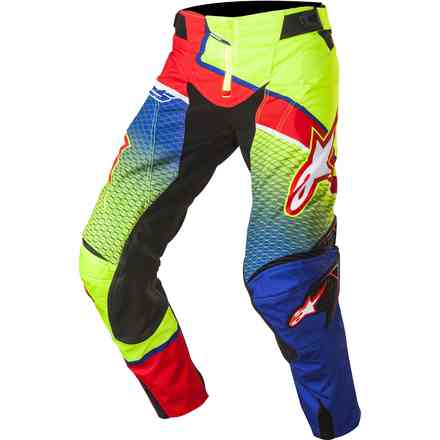 Techstar Venom blue-yellow-red Pants  Alpinestars