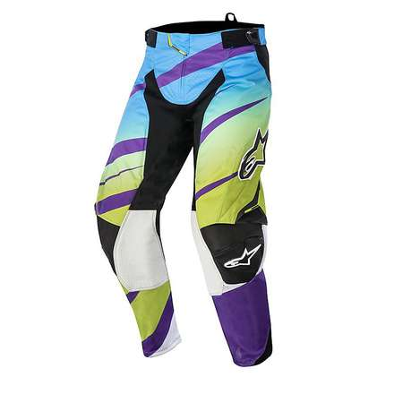 Techstar Venom Hosen 2015 cross Violett-Lime Alpinestars