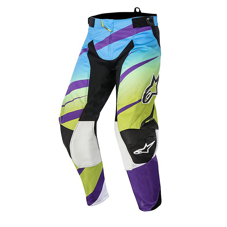 Techstar Venom Pants 2015 cross purple-lime Alpinestars
