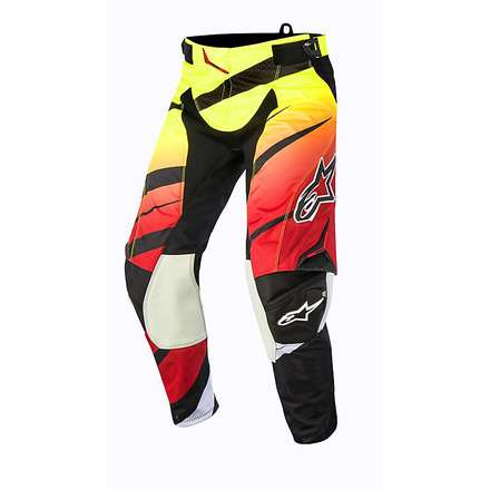 Techstar Venom Pants 2015 cross red-yellow fluo-black Alpinestars