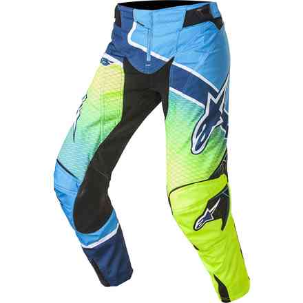 Techstar Venom yellow-blue Pants  Alpinestars