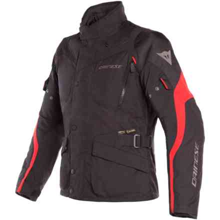 Tempest 2 D-Dry Black Tour red jacket Dainese
