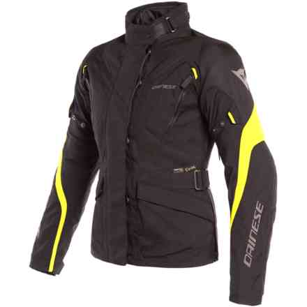 Tempest 2 Lady D-Dry jacket black yellow fluo Dainese