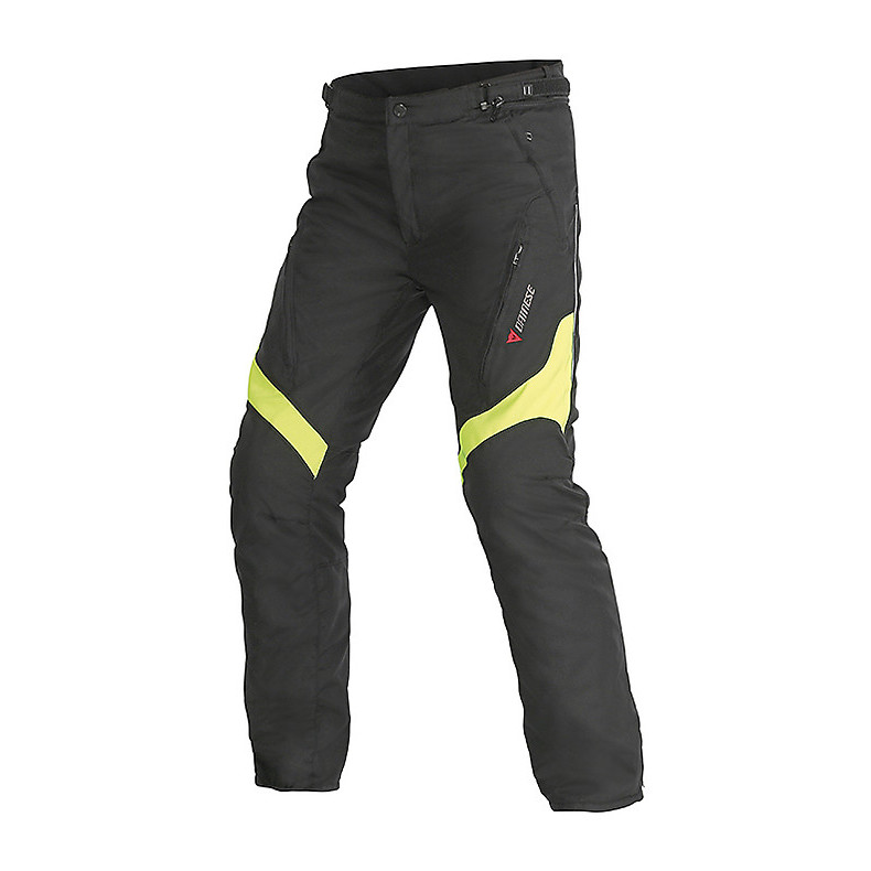 Tempest D-dry Pants black-yellow Dainese