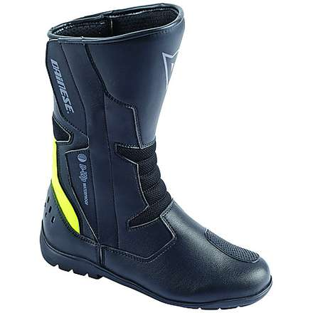 Tempest D-Wp Boots Black-Yellow Fluo Dainese