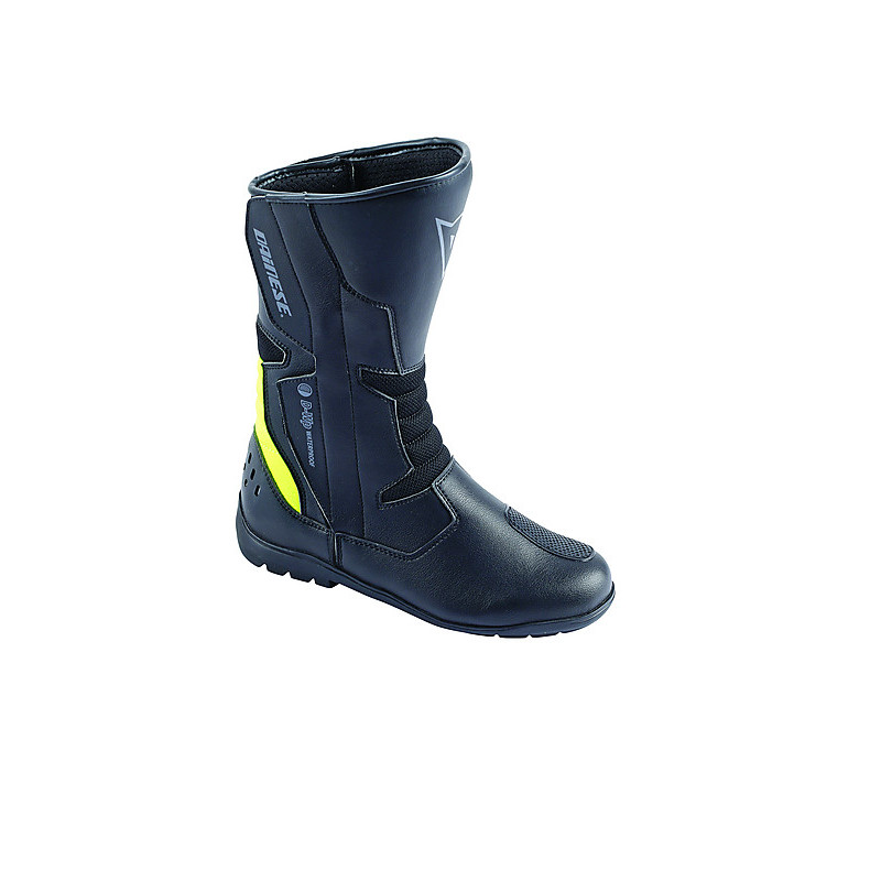 Tempest D-Wp Lady Boots Black-Yellow Fluo Dainese