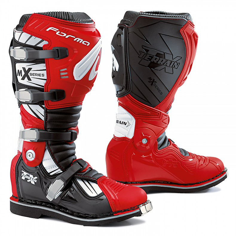 Terrain Tx black-white-white-red Boots Forma