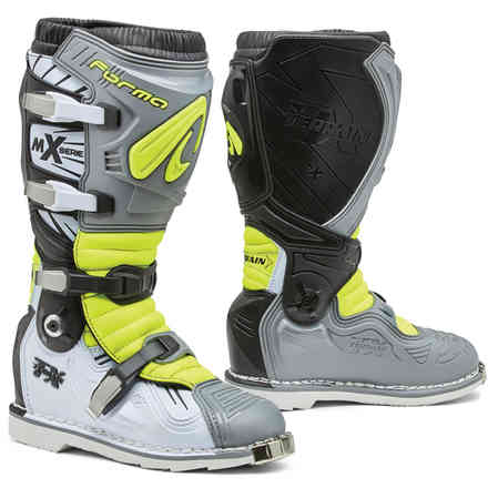 Terrain Tx boots grey white yellow fluo Forma