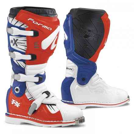 Terrain Tx boots white red blue Forma