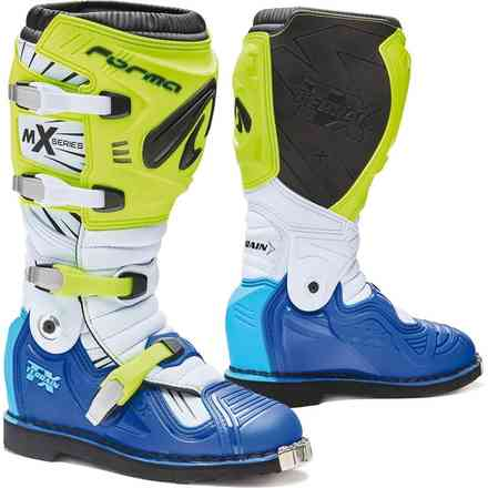 Terrain Tx boots yellow fluo white blue Forma