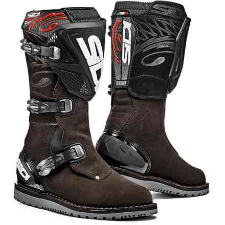 Testversion Zero.1 Brown Boots Sidi
