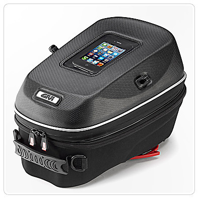 Thermoformed tank bag Givi