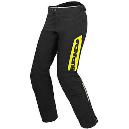 Thunder H2Out Pants black-fluorescent yellow Spidi