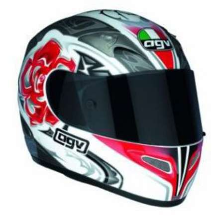 Ti-tech Evolutio Rose Helmet Agv