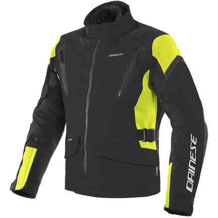 Tonale D-dry Jacket Blk/Ylw-Fluo Dainese