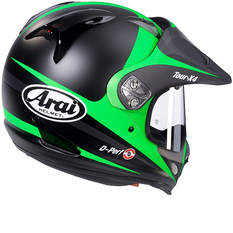 Tour -X 4 Route Green Helmet Arai