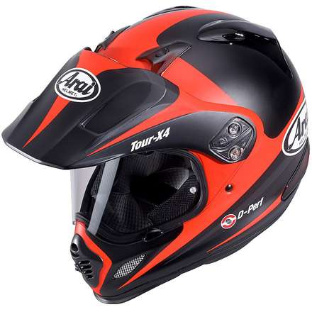 Tour -X 4 Route Red Helmets Arai