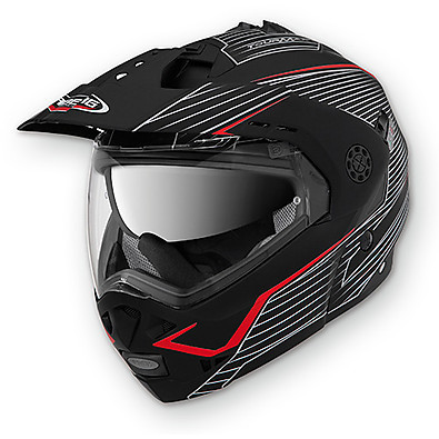Tourmax Sonic Helmet black-red Caberg