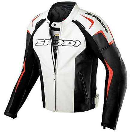 Track Leather Jacket Spidi