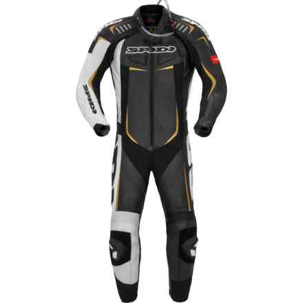 Track Wind Pro Suit black gold Spidi