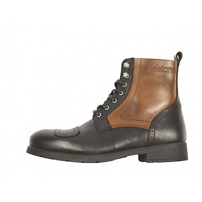 Travel Shoe Brown-Black Helstons