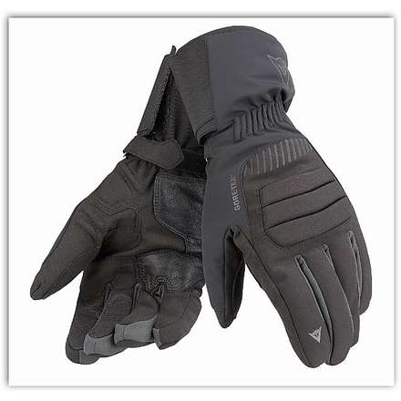 Travelguard Gtx  Black / Black / Carbon Gloves Dainese
