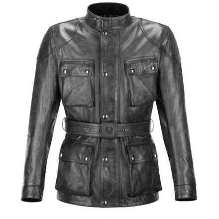 Trialmaster Pro  antique black jacket Belstaff