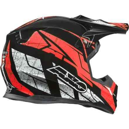 Tribe helmet black red Axo