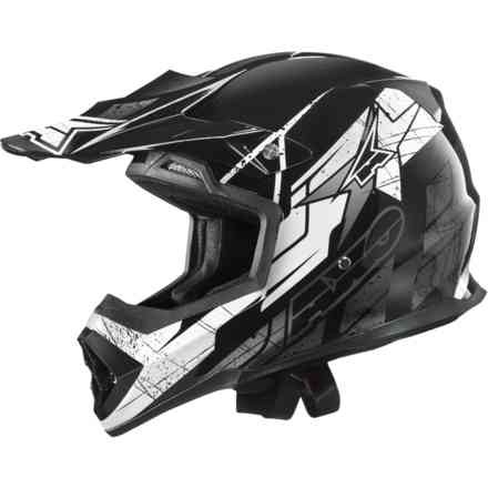 Tribe helmet white black Axo