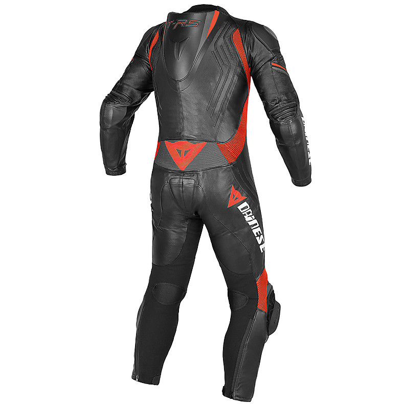Trickster Evo Prof.  C2 traforated Suit black-black-red Dainese