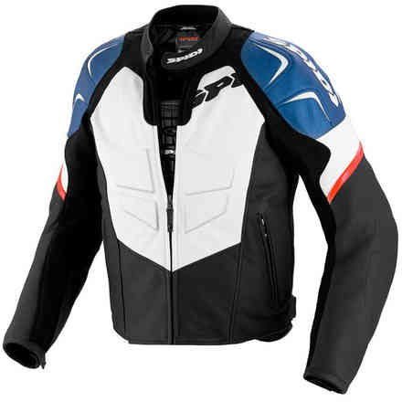 TRK EVO  Jacket black-blu Spidi
