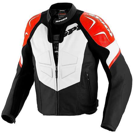 TRK EVO  Jacket black-red  Spidi
