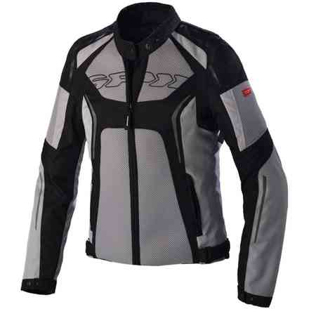 Tronik Net Lady black grey Jacket Spidi