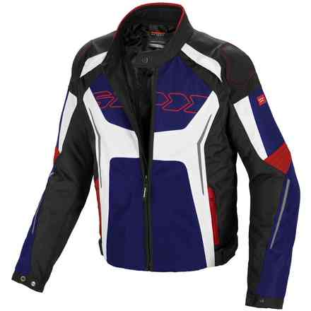 Tronik Tex Blue Red White Jacket Spidi